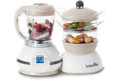 Mixeur Cuiseur BABYMOOV Nutribaby Crème A00115