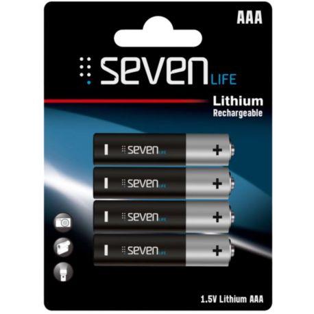 Piles rechargeables SEVENLIFE 220 Mah AAAx4