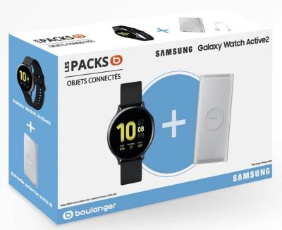 Montre connectée Samsung Pack Galaxy Watch Active2 44mm+Powerbank