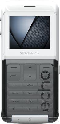 Téléphone portable Echo Memento Blanc