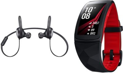 samsung pack noel gear fit 2 pro level active montre connect e boulanger. Black Bedroom Furniture Sets. Home Design Ideas