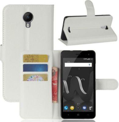 lapinette portefeuille wiko tommy 2 plus blanc coque etui smartphone boulanger. Black Bedroom Furniture Sets. Home Design Ideas