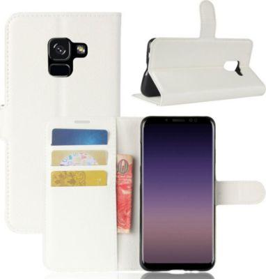 lapinette portefeuille samsung galaxy a8 2018 blan accessoire smartphone samsung boulanger. Black Bedroom Furniture Sets. Home Design Ideas