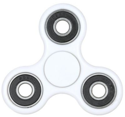Antistress Turbospin hand spinner coloris blanc