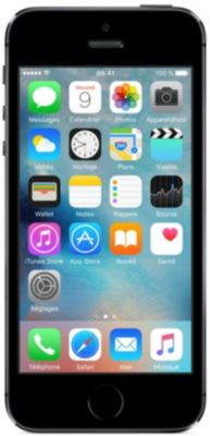 Smartphone reconditionné Apple iPhone 5S 16 Go Gris Grade A+