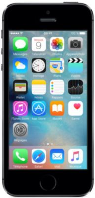Smartphone Apple iPhone 5S Silver 16Go reconditionne
