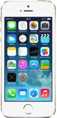 Smartphone reconditionné Apple iPhone 5S 16 Go Or Grade A+