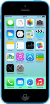 smartphone reconditionn apple iphone 5c 16 go bleu grade a reconditionn bon tat boulanger. Black Bedroom Furniture Sets. Home Design Ideas