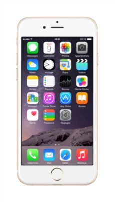 Smartphone Apple iPhone 6 Gold 16 Go reconditionne
