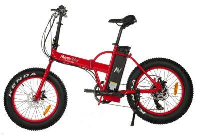 Vélo électrique Moovway Fat Bike rouge