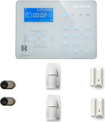 Tike securite ice b20 compatible box internet alarme for Alarme maison internet