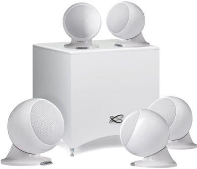Pack enceinte Home Cinéma Cabasse Alcyone 2 Blanc brillant