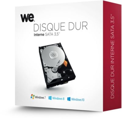 Disque dur interne WE 3.5'' 4To 5400T Retail