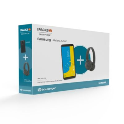 Smartphone Samsung Pack Galaxy J6 + Casque JBL