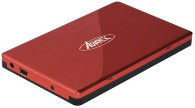 Boitier Disque dur advance 2,5'' sata usb 2.0 mobile hdd red