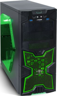 Boitier PC Spirit Of Gamer X-FIGHTERS 41 Green Army