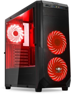 Boitier PC Spirit Of Gamer PC Rogue 1 Rouge