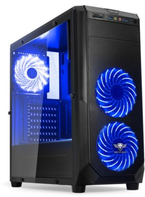 Boitier PC Spirit Of Gamer PC Rogue 1 Bleu