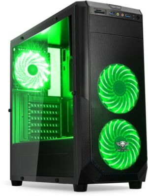 spirit of gamer pc rogue 1 vert bo tier pc boulanger. Black Bedroom Furniture Sets. Home Design Ideas