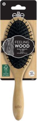 Brosse À cheveux elite démélante en bois classique