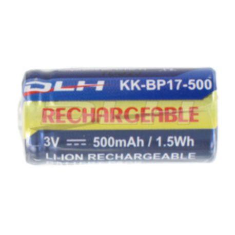 Pile spéciale DLH CR123A KK-BP17-500