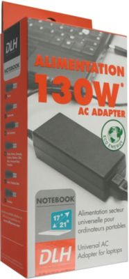 Chargeur ordinateur portable DLH Regular 130W UNIVERSELLE