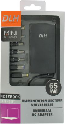 Chargeur ordinateur portable DLH Mini 65W Universelle