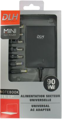 Chargeur ordinateur portable DLH MINI 90W NOTEBOOK UNIVERSELLE