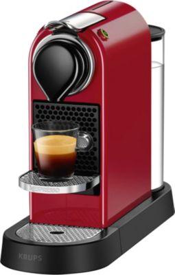 Nespresso Krups YY2731FD Citiz Rouge