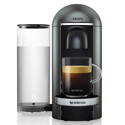 Krups yy2778fd vertuo titane nespresso boulanger - Boulanger machine a cafe ...