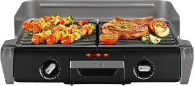 Barbecue Électrique tefal family grill + couteaux yy3077fb