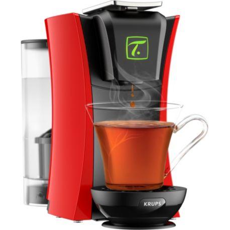 Machine à thé KRUPS Spécial.T MASTER YY4124FD Rouge