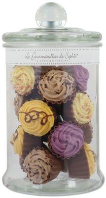 Bonbons Gourmandises sophie cupcakes multicolores chocolat