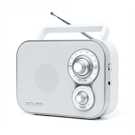 Radio MUSE M-051 RW blanche