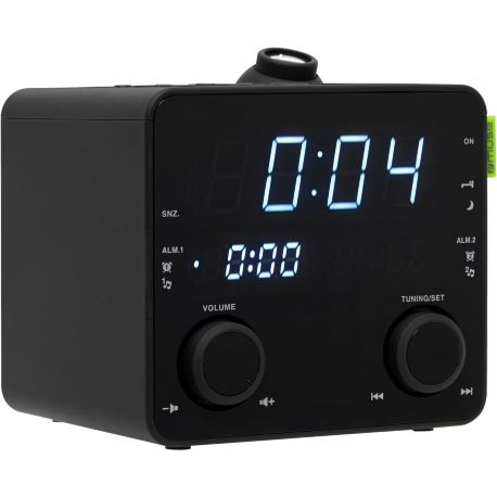 Radio-réveil MUSE M-189 P Noir