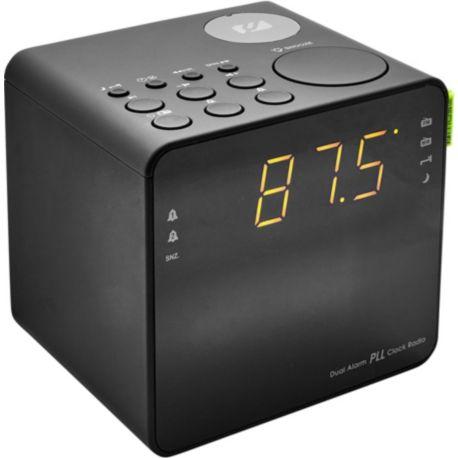 Radio-réveil MUSE M-187 CLG noir