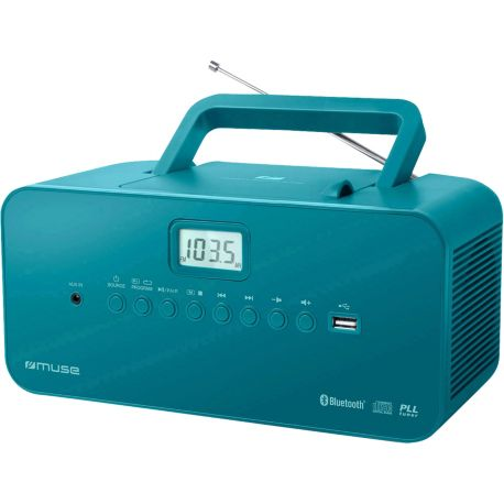 Radio CD MUSE M-30 BT bleu