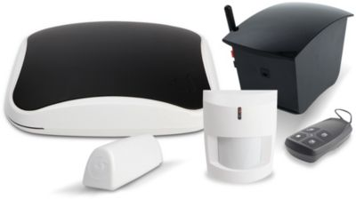 Myfox pack security hc2 fo0310 alarme maison boulanger for Alarme maison myfox