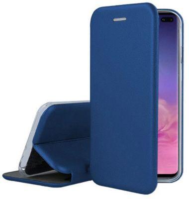 Etui Ibroz Samsung S10+ Cuir bleu