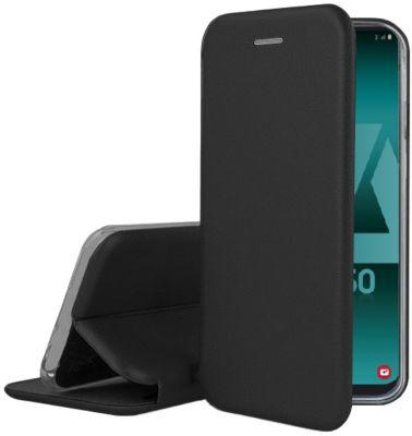 Etui Ibroz Samsung A50 Cuir noir