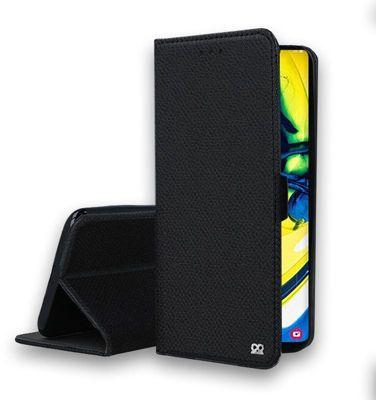 Etui Ibroz Samsung A80 Cuir noir