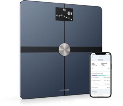 Pèse personne connecté Nokia Body Plus Noir