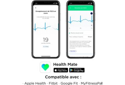 Montre WITHINGS MOVE ECG BLEUE