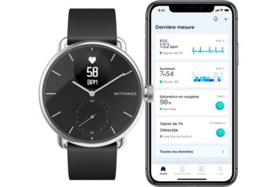 Tracker WITHINGS SCANWATCH BLANC 38mm