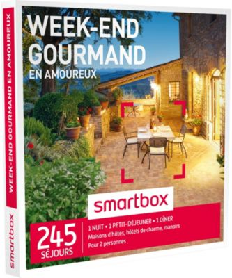 smartbox week end gourmand en amoureux coffret cadeau boulanger. Black Bedroom Furniture Sets. Home Design Ideas