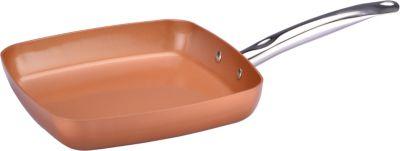 Poêle Copper Chef carrée 28 cm