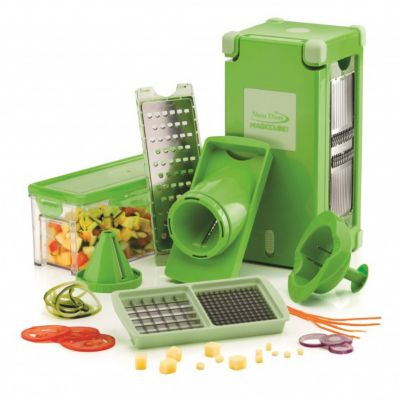 Genius nicer dicer magic cube mandoline coupes l gumes fruits et oeufs boulanger - Coupe legumes nicer dicer plus ...