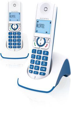 Téléphone sans fil Alcatel F330 S Duo Bleu