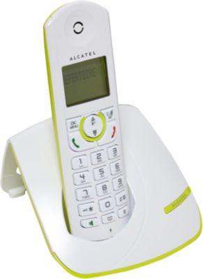 Téléphone sans fil Alcatel F390 Solo Lime