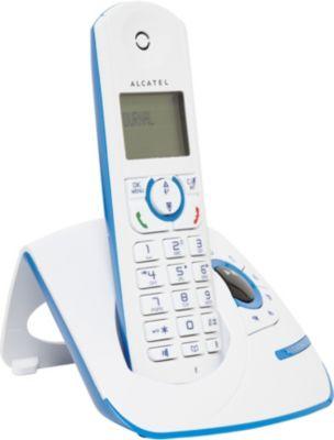 Téléphone sans fil Alcatel F390 Voice Solo Bleu